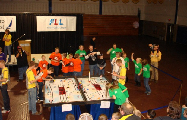 Lego League Qualifier in Estherville