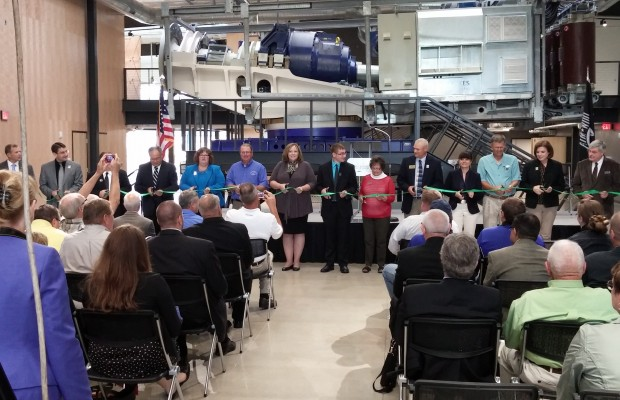S.E.R.T. Building Ribbon Cutting Held