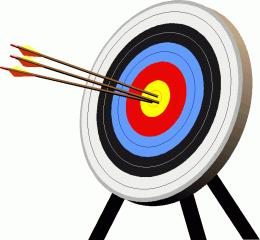 spencer archery fundraiser kicd 107 7 fm rh cd1077fm com archery clipart images archery clip art free printable
