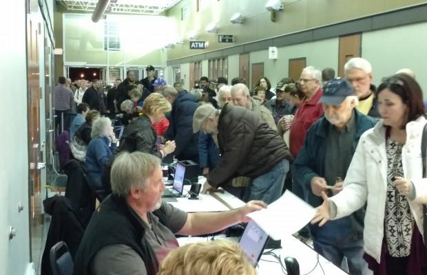 Spencer, IA (KICD)–The 2016 Iowa Caucuses took place Monday evening.