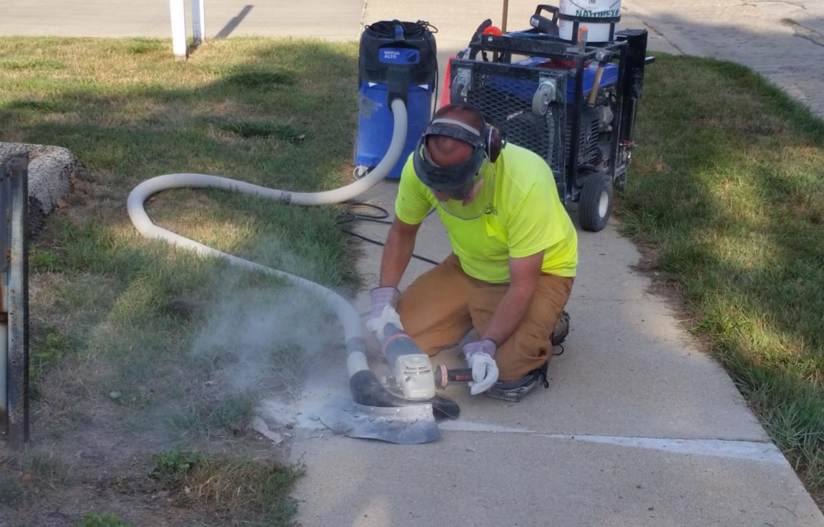 Sidewalk Cutting Program Approved - KICD-FM News Talk Radio