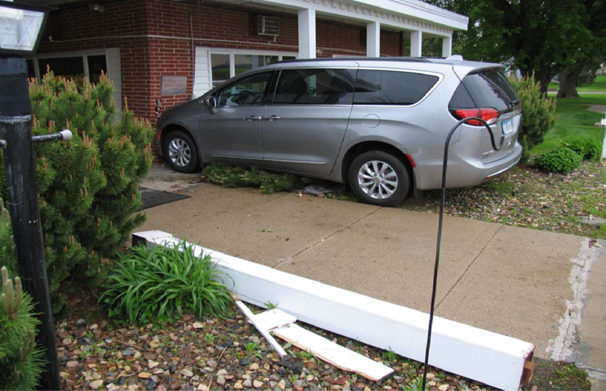 One Person Injured In Vehicle Vs Building | BIg Country 107 7